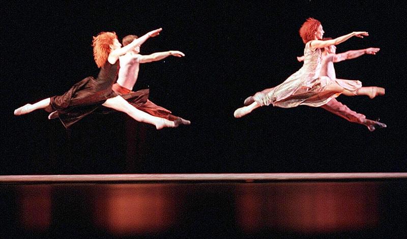 Tanzen im Festspielhaus.Ballett